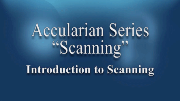 How to use a scanner.