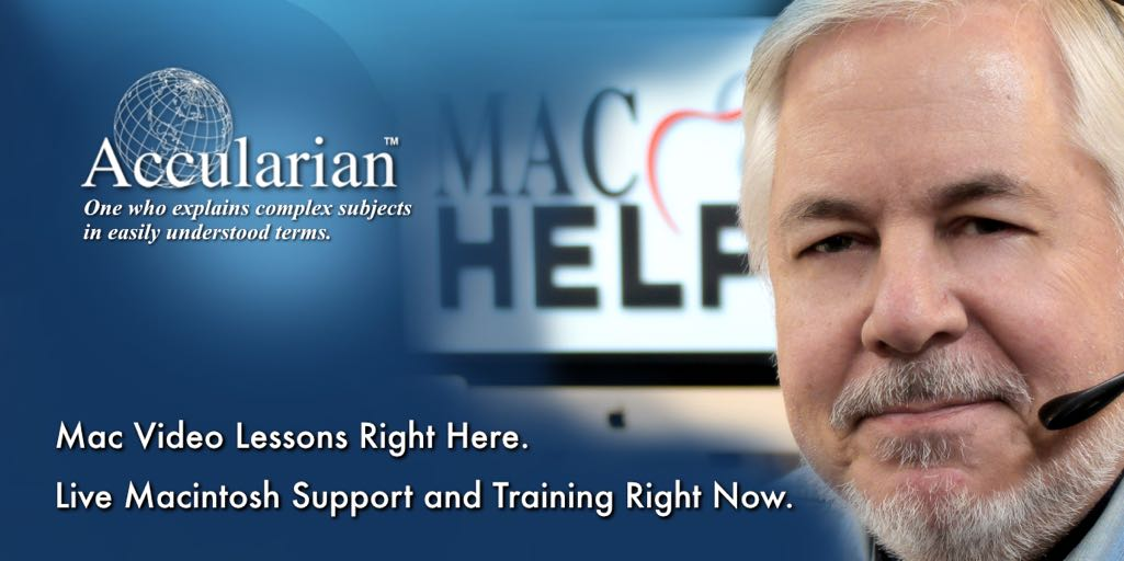 Macintosh Support and Training - Call 954-726-9525.