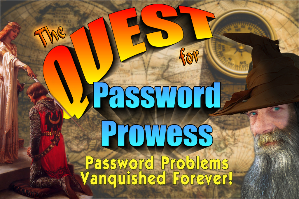 Learn how to solve your password problems!